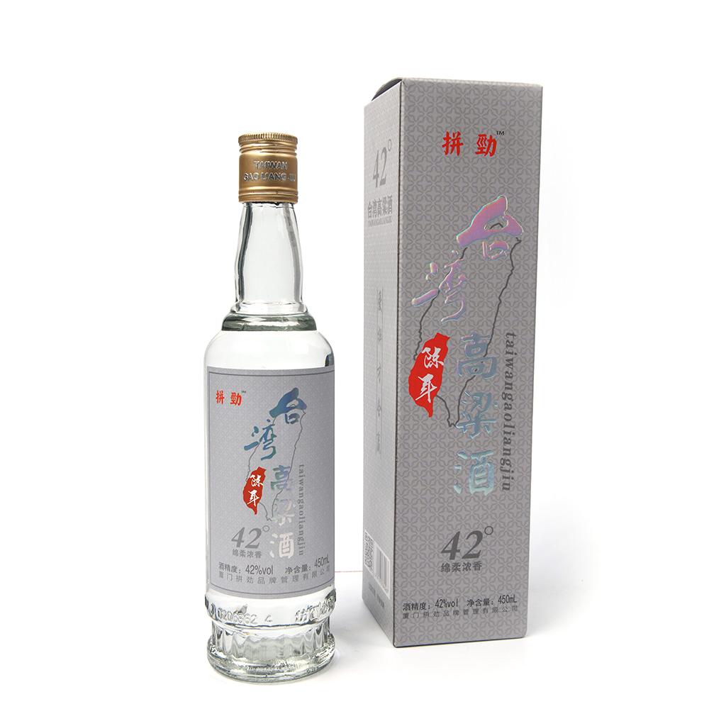 台湾高粱酒42度绵柔浓香